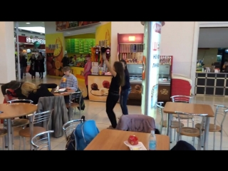 Флешмоб для сериала Кухня на канале СТС Набережные Челны