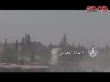 Сирия. Дамаск. Части Республиканской Гвардии в боях с боевиками Джейш аль Ислам.