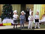 Танец мальчиков зайчиков - УМОРА! Утренник в детском саду