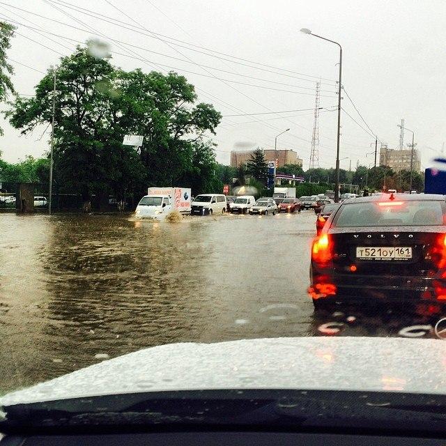 «Управление защиты от ЧС» Таганрога и ГУ МЧС по РО объявили о штормовом предупреждении