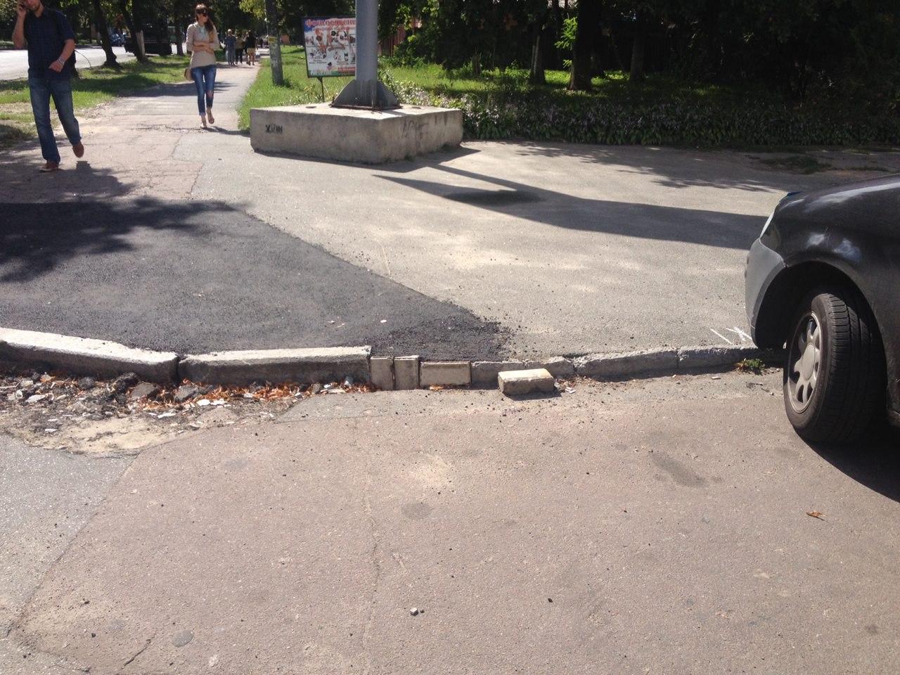 бордюры в Чернигове