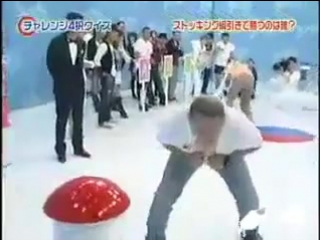 Очередное сумасшедшее японское шоу юмор смешно