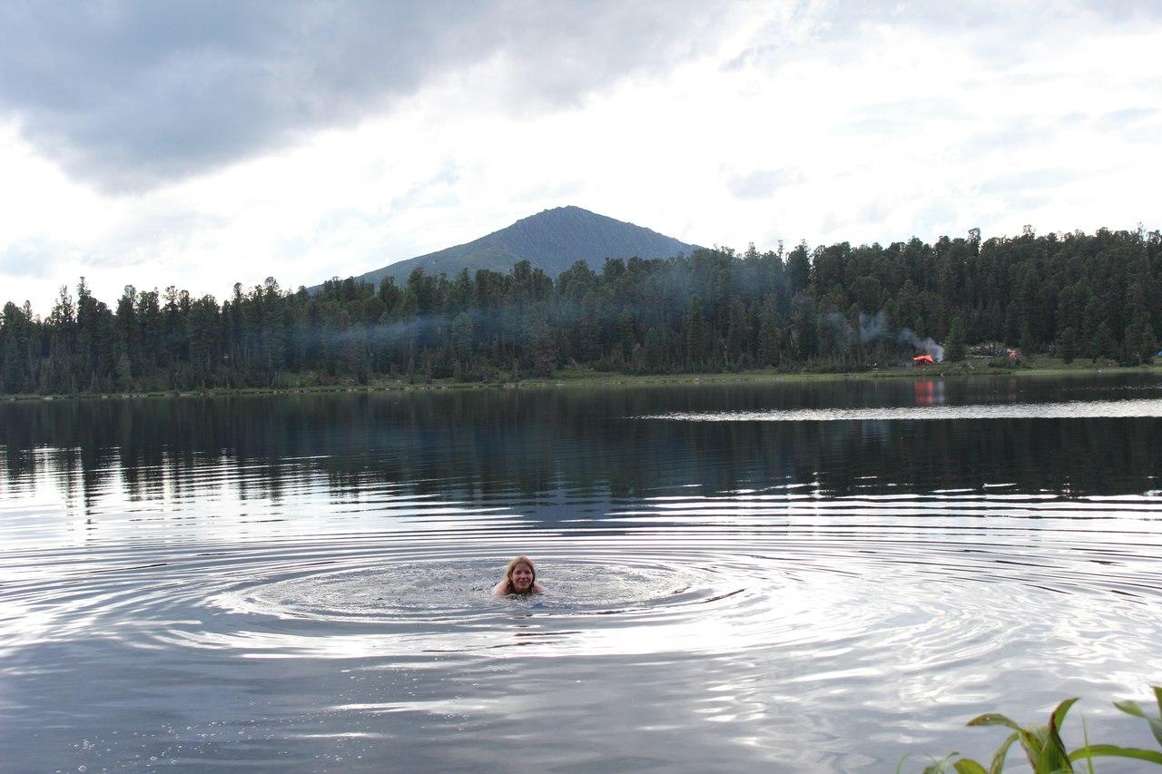 Купание в озере Светлое