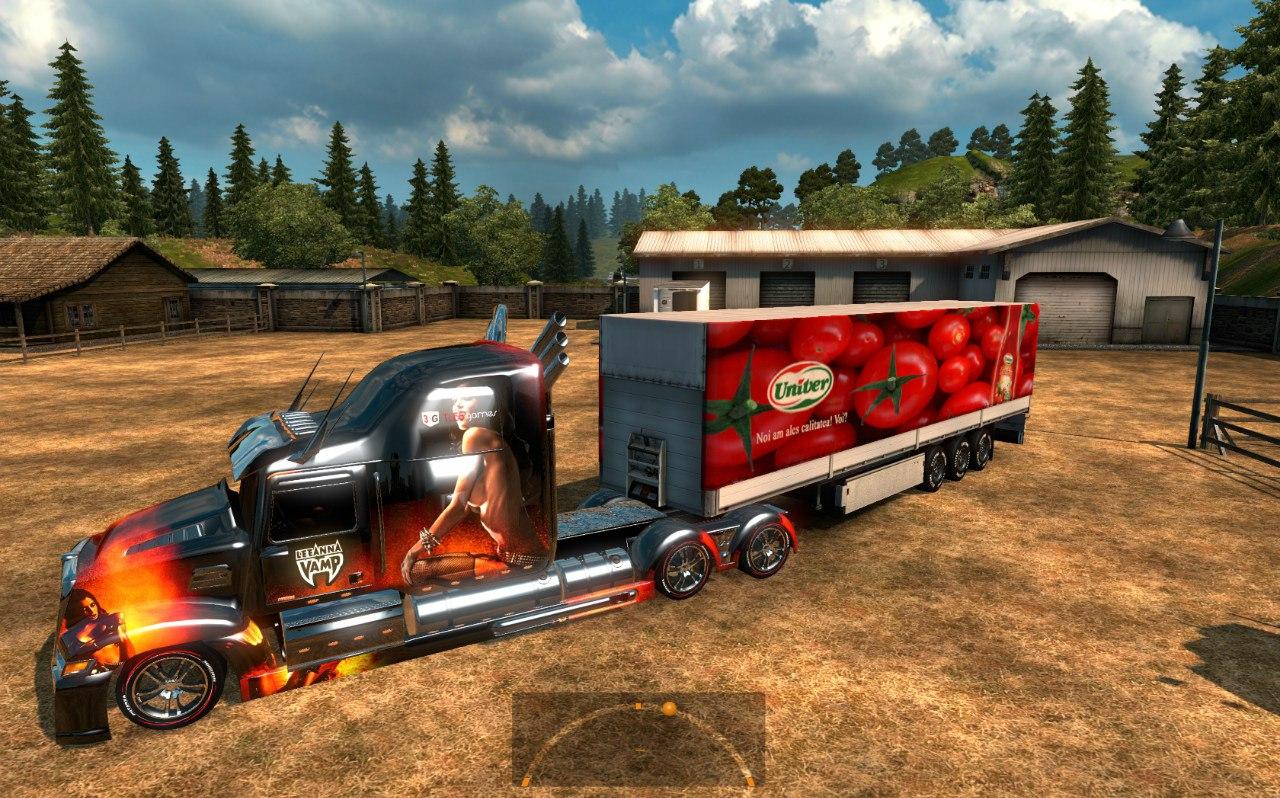 Wester Star 5700 Optimus Prime для Euro Truck Simulator 2 - Скриншот 2