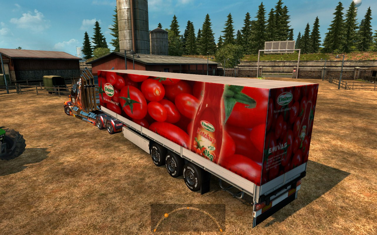 Wester Star 5700 Optimus Prime для Euro Truck Simulator 2 - Скриншот 3