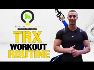 Green Gorillaz - Тренировка TRX (Mohamed Abd-El-Halim) AF