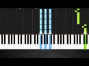 The Weeknd - Earned It Fifty Shades of Grey Piano Cover/Tutorial by PlutaX - Synthesia