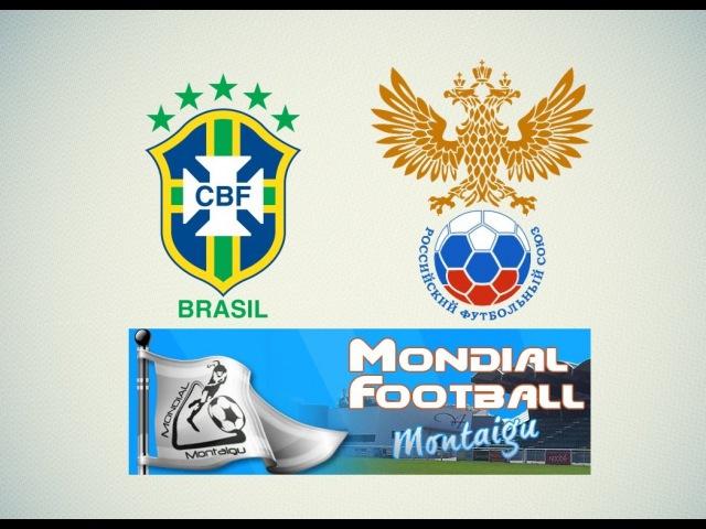 [24.03.2016] Бразилия U-17 - Россия U-17. Международный турнир Мондиаль Монтегю во Франции.