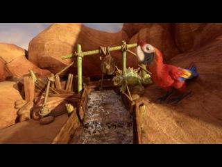 «Робинзон Крузо: Очень обитаемый остров» (2016): Трейлер №2 (дублированный) / https://www.kinopoisk.ru/film/919286/