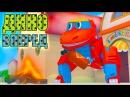 Мультики для детей Дино вперед 2 серия Мультфильм про машинки и животных Зайчики котики динозавр