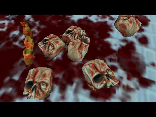Half-Life - Spooky Skull Gib Easter Egg