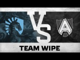 Team wipe by Team Liquid vs Alliance @WCA 2015 LAN Finals