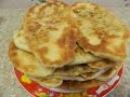 Пирожки с рисом, яйцом и укропом, жареные на сковороде. В гостях у кумы. Домашняя выпечка.