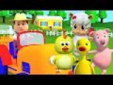 Старый Макдональд имел ферму  детская песня для детей  дети рифмуется с русским...