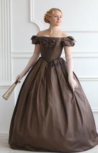 Прокат платья 19 века москва