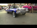 Candy Blue 72 Caprice Donk on 26 DUB Hurricayne Floaters - 1080p HD