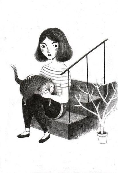 Кошки — они другие. Кошка не меняет отношение к человеку, даже если это в ее интересах. Кошка не может лицемерить... Если кошка любит тебя, ты это знаешь. Если не любит — тоже знаешь.