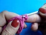 Вязание крючком - Урок 174 - Круг из столбиков с 1 накидом