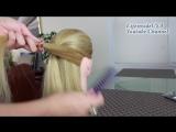 Быстрая прическа в школу на длинные волосы