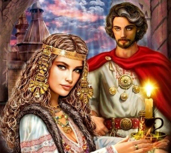 Князь и колдунья