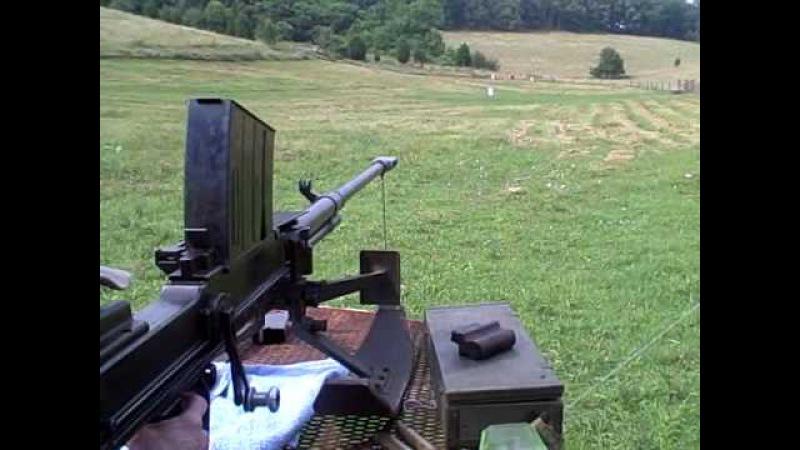 Fireing the 20mm lahti Anti tank gun