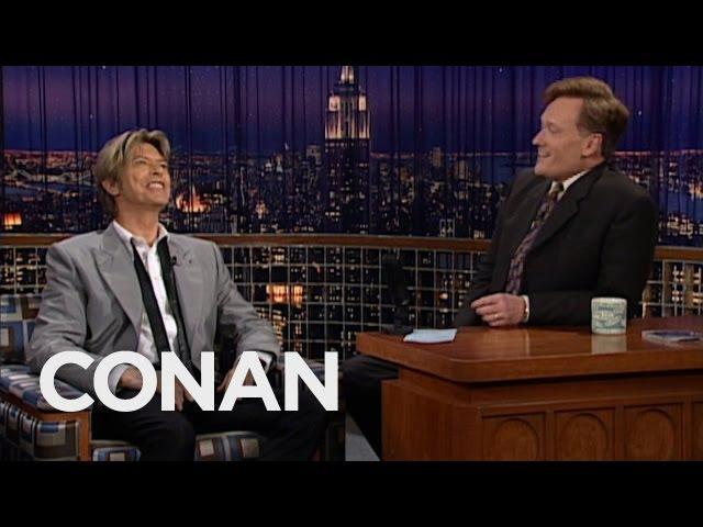 Conan Remembers David Bowie CONAN on TBS