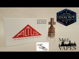 The Altus Tank. World's First Coiless Atomizer Review - Mike Vapes