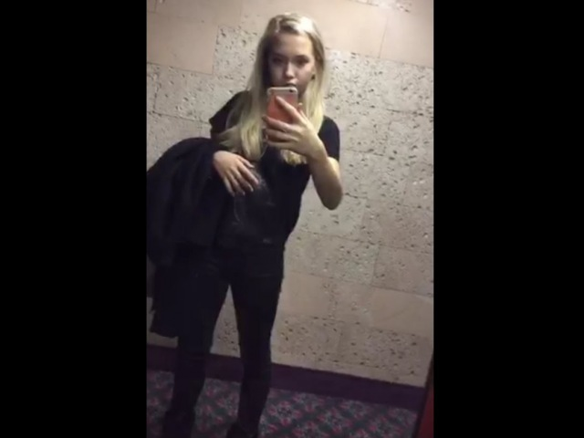 Elena Radionova on Periscope (19.11.15) Selfies in hotel (Feat. Sotnikova)