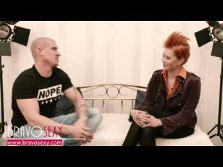 BravoSexy talk show Lucy de Light guest MAX BORN porn actor