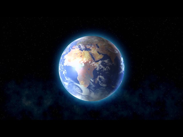 Видео футаж – Планета Земля
