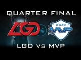 MVP vs LGD - Quarter Final Shanghai Major Highlights Dota 2