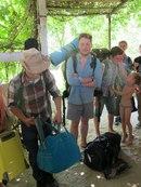 Первая смена студентов-первокурсников покидает Каменную Балку