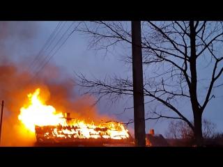 пожар Поддубно 05-02-2016