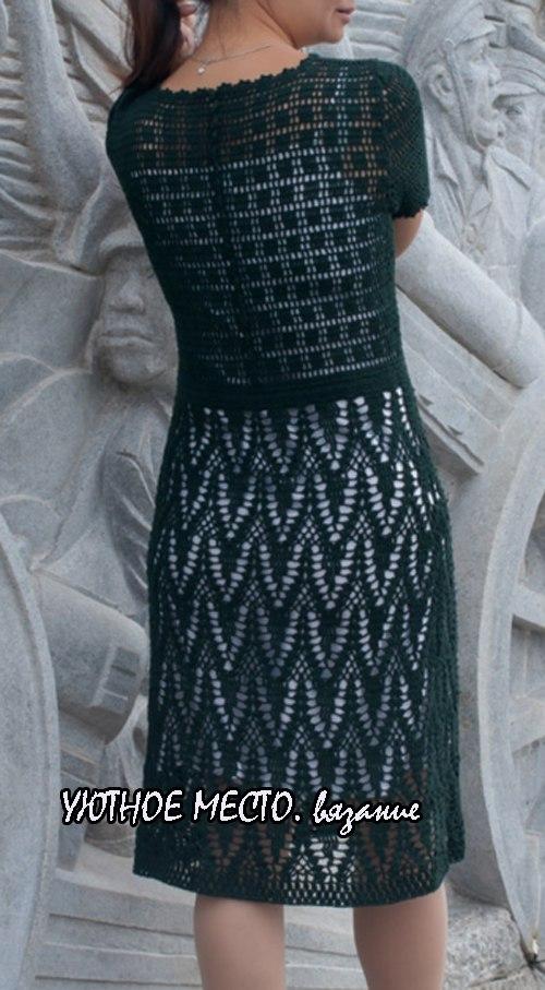 钩针连衣裙(446) - 柳芯飘雪 - 柳芯飘雪的博客
