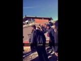 February 29: Fan taken video of Justin at Big Bear Mountain in California.