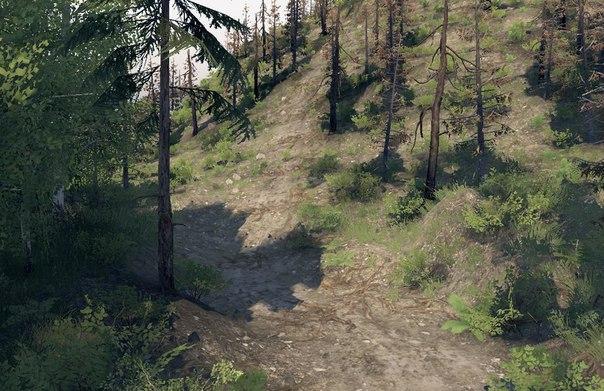 КАРТА «FOREST PARK» для Spintires - Скриншот 2