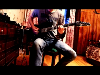 Symphony X - Walls Of Babylon (Guitar Cover)