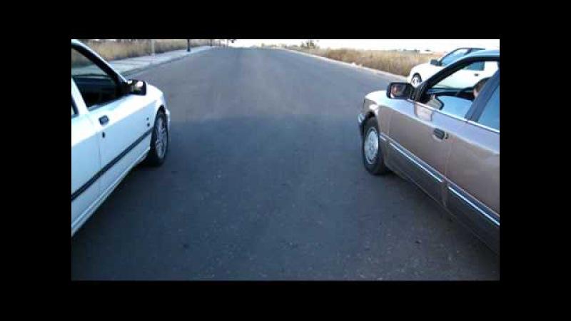 Carbatera Sierra Cosworth 4x4 vs Scorpio 2.9 v6