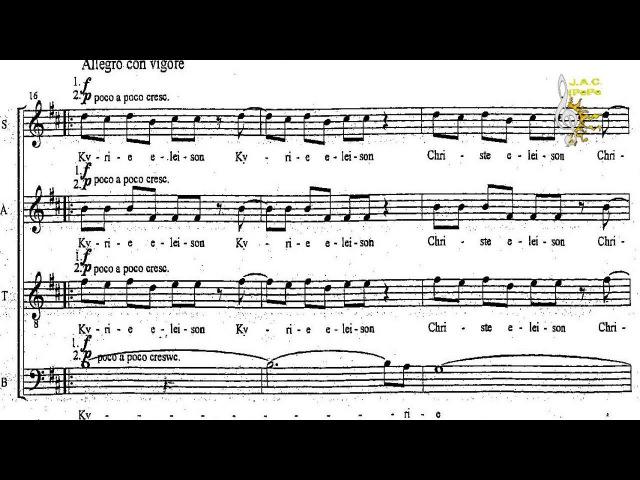 Kyrie (2006) - Piotr Jańczak - Coro Mixto