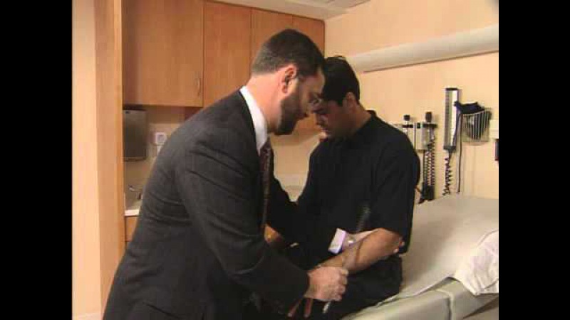 Cranial Nerve Test with Pat LaFontaine Dr. James Kelly