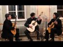 Los Ungaros Guitar Trio plays Beethoven Sonata Pathétique 1st mov.