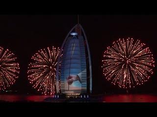 Burj Al Arab Celebrates the UAE's 43rd National Day - Official Video