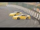 STL! — Slammed S14 Clutch Kick Flick Entry at Driftland