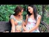нежный поцелуй двух девочек - эротика / gentle kiss two girls - erotic