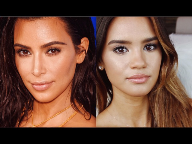 Макияж в стиле Ким Кардашьян Kim Kardashian 2016 VMAs Makeup Tutorial