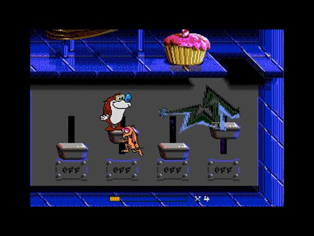 Mega Drive Longplay [130] The Ren Stimpy Show Presents: Stimpy's Invention
