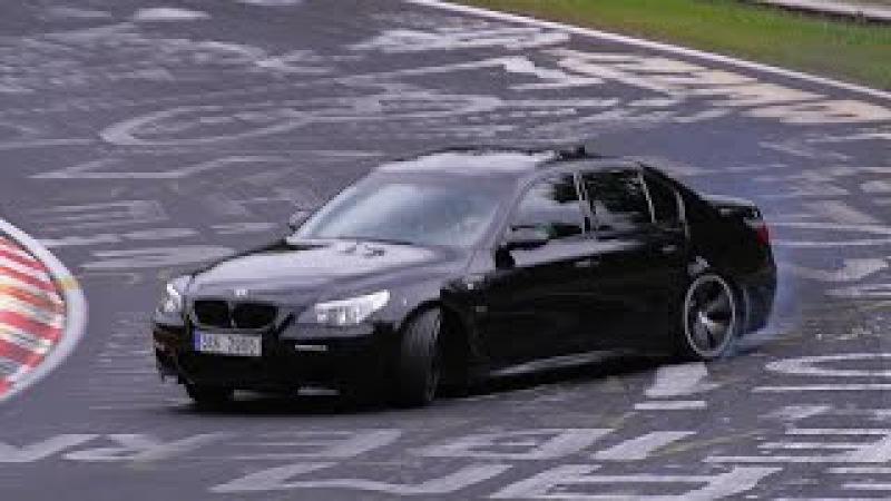Drive Angry on BMW M5 | Сумасшедшая езда на БМВ М5