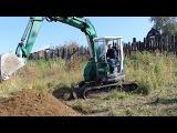 Земляные работы. Монтаж водопровода