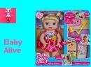 Кукла Пупсик кушает какает говорит обзор Беби Элайв Baby Alive Игрушки и Игры для девочек