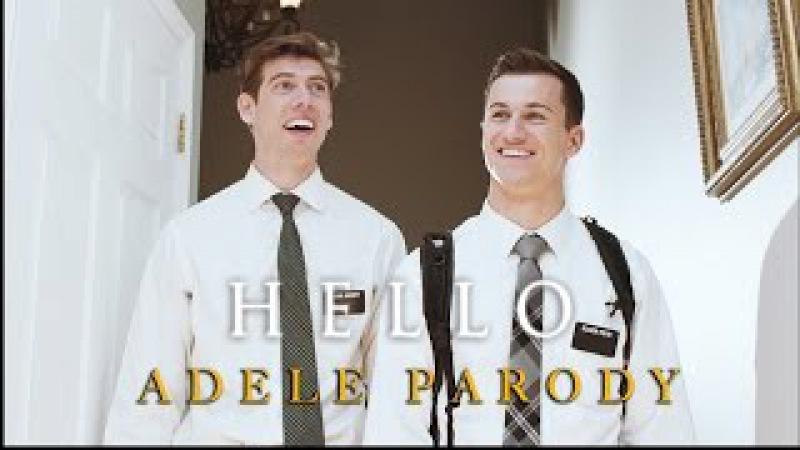 Adele - Hello (Mormon Missionary Parody)